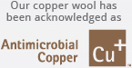 Antimicrobial Copper logo
